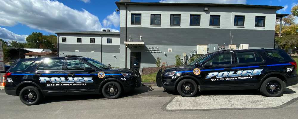 Police Cars Next to Each Other